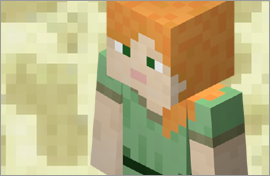 Minecraft Alex Figures