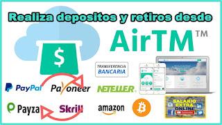 AirTM Gana Dinero transfiriendo