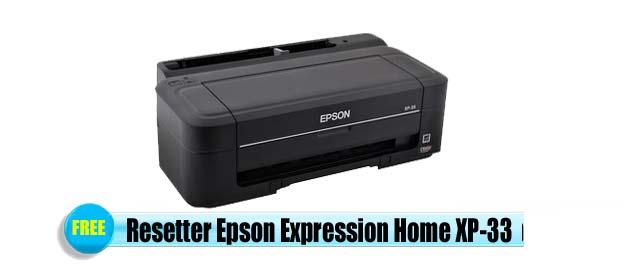 Epson Expression Home XP-33 Adjustment Program