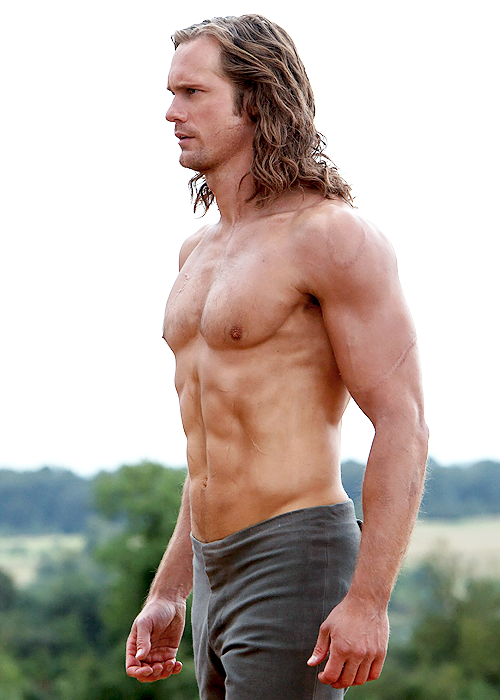Alexander Skarsgård pettorali top per The Legend of Tarzan - JIMI PARADISE