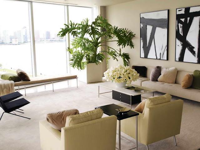 Resultado de imagem para salas decoradas com vasos