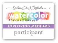 Watercolor for Cardmakers: Exploring Mediums Student