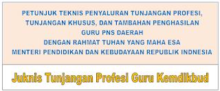 Juknis Tunjangan Profesi Guru Kemdikbud Tahun 2019