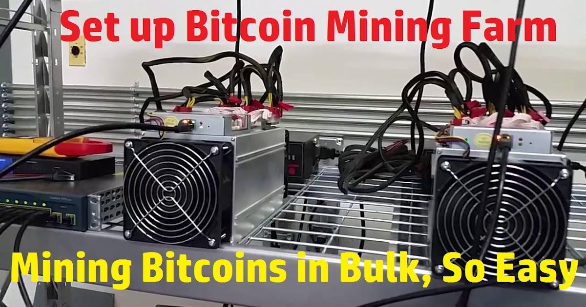 Bitcoin Mining (Antminer-S9): Bitcoin Mining Hardware For