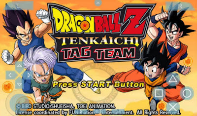 download Dragonball Z Tenkaichi Tag Team CSO