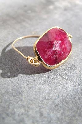bague rubis Louise Hendricks bijoux