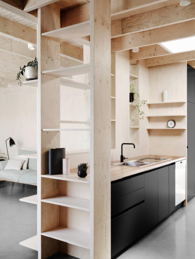 Dal massello ai pannelli, il legno grezzo è tra i top trend 2017 casa in legno massello