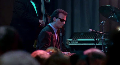 Bill Murray playing piano in Groundhog Day