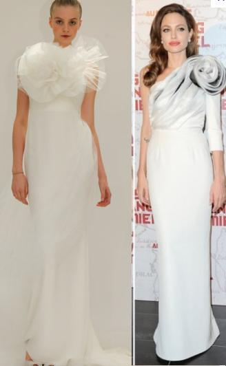 Indian Beauty Central Angelina Jolie S Wedding Gown