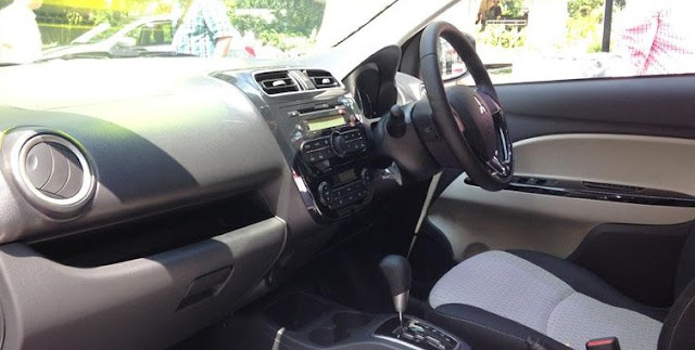 interior pada new mirage 2016