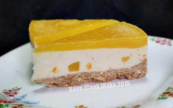 Bake Along #78 No Bake Mango Cheesecake