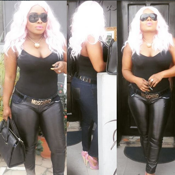Halima Abubakar steps out as Storm