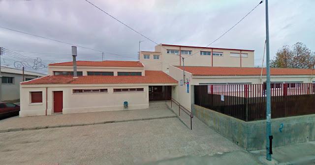 Fachada el Colegio Publico Nuestra Señora del Consuelo de Yuncos