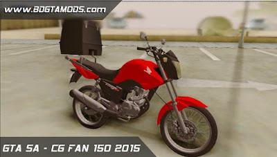 CG FAN 150  para GTA San Andreas
