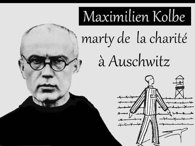 Maximilien Kolbe (martyr à Auschwitz)