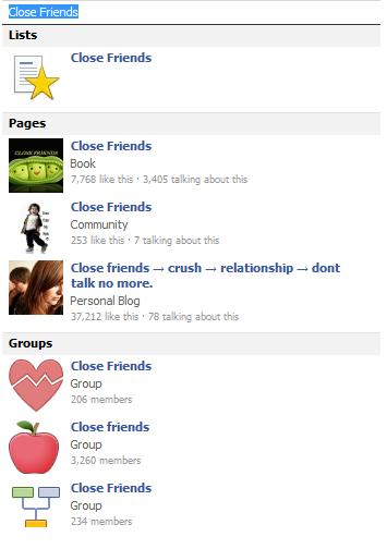 Edit Facebook Friends List Restricted