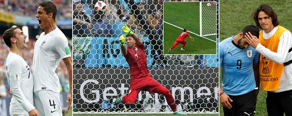 Rafael Varane And Antoine Griezmann Strikes Ensured Rather Comfortable 2 0 Win Over Uruguay Now They Face Their Gest Test In Neighbours Belgium On