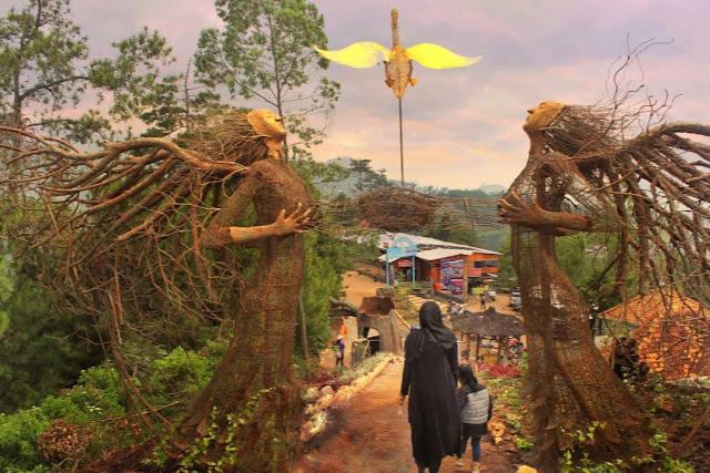 Wisata Taman Langit Batu, Wisata Kekinian Yang Lagi Hits