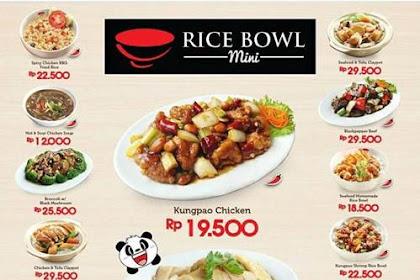 Lowongan Rice Bowl Mini Living World Pekanbaru Mei 2019