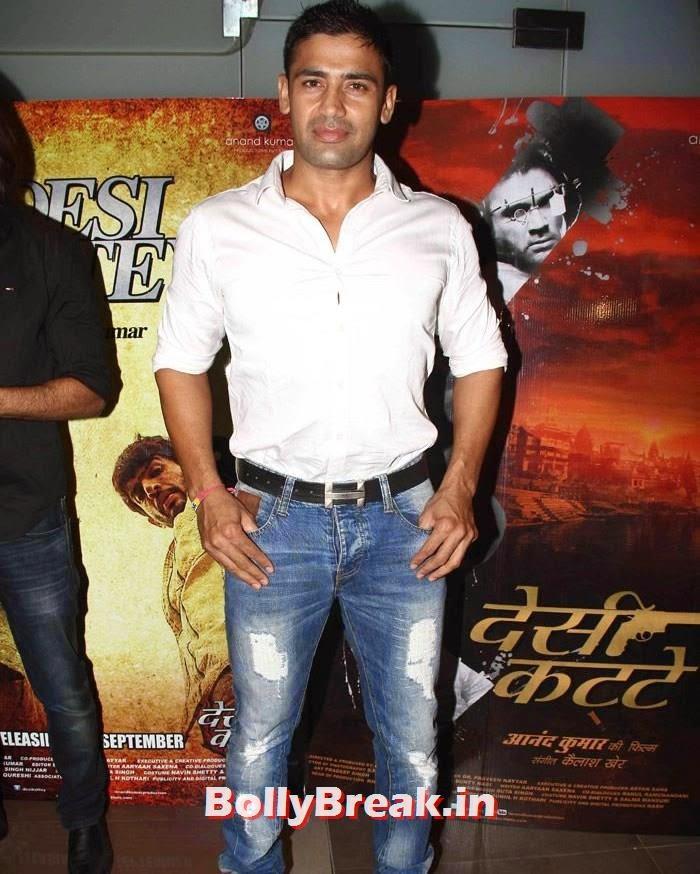 Sangram Singh, Sasha Agha, Shibani Kashyap new pics from 'Desi Kattey' Special Screening
