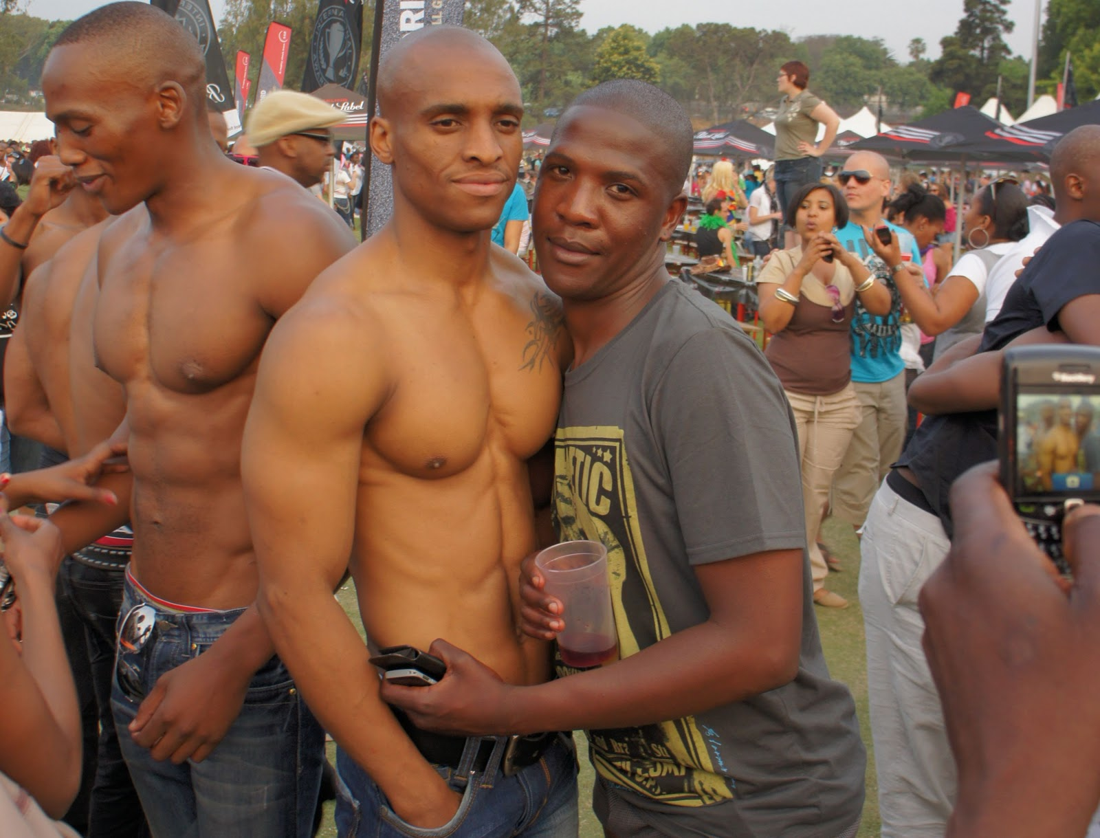 eugene h u0150n   ceramic artist  joburg gay pride 2011  desire