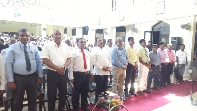 Hon.State Minister Ratha Kirushnan M.P in Akkaraipattu Central College