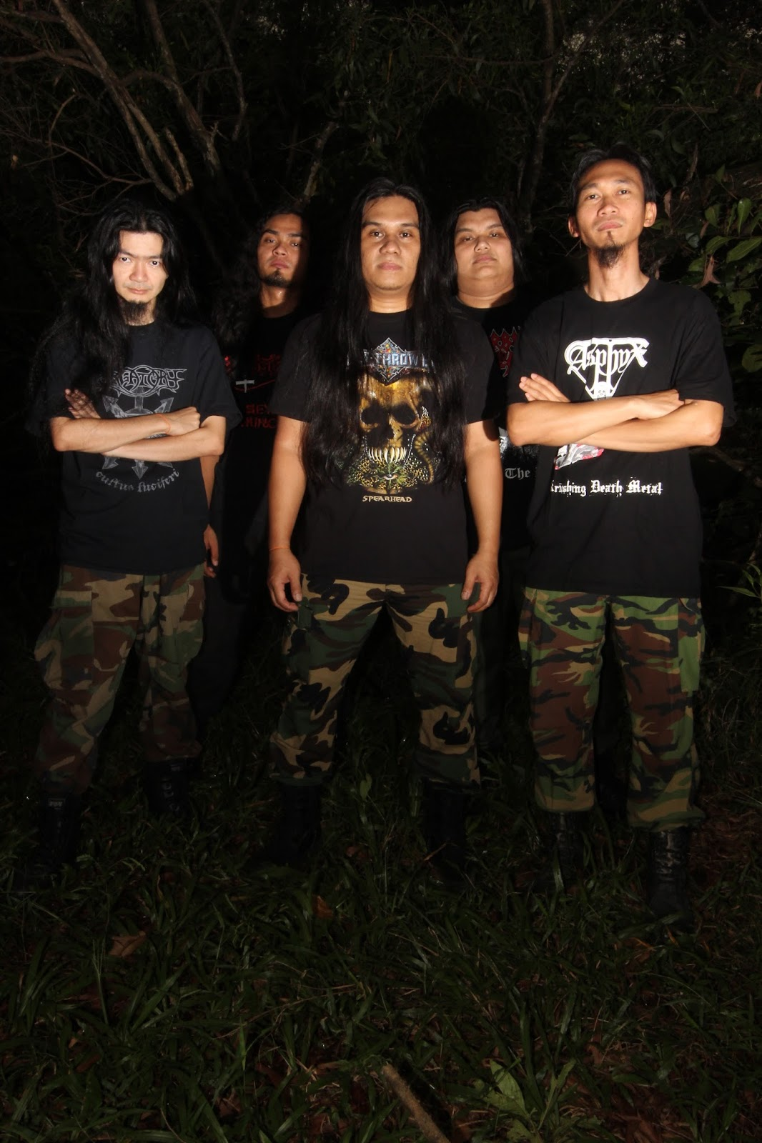 "Metal Bulletin Zine: Humiliation: ""military death metal ..."