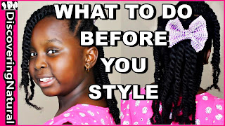 How to Care for Natural Hair Before Protective Styling