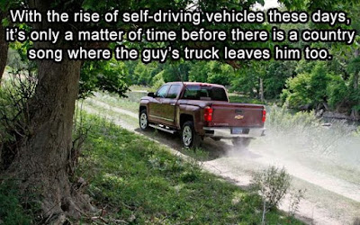 country music meme, country music truck leaves man, country music humor