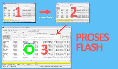 Soffware Proses intal ulang oppo Neo R821 yang error menyala sampai logo