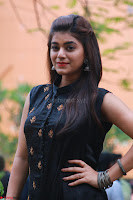 Actress Yamini Bhaskar in a Tight Black Sleeveless Dress ~  Exclusive 15.JPG