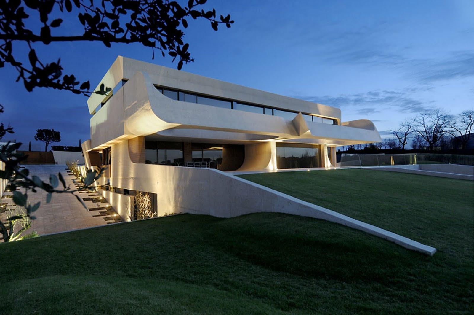 Arquitectura arquidea vivienda minimalista por a cero - Proyectos casas unifamiliares ...