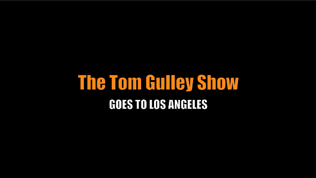 the tom gulley show los angeles trip amtrak train dallas union station ruben rodriguez broadscasting linette miller lori downey jr outlaw radio