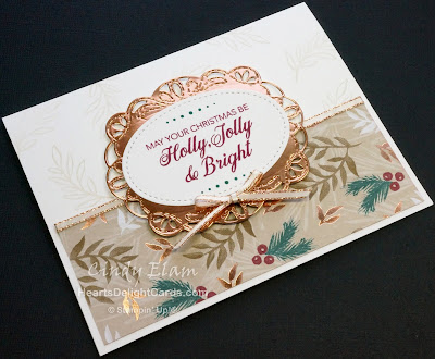Heart's Delight Cards, Peaceful Noel, Christmas Stamp-A-Stack, Stampin' Up!