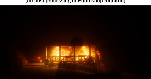 "How to Photograph ""Ghosts"" in a Single Exposure"