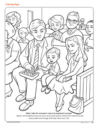 sacrament coloring pages for kids - photo#18