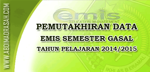 Pemutakhiran Data Emis 2014