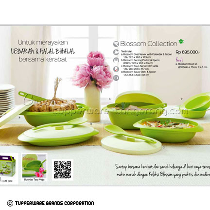 Blossom Collection ~ Katalog Tupperware Promo Juni 2016