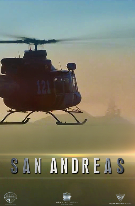 Teaser Poster San Andreas