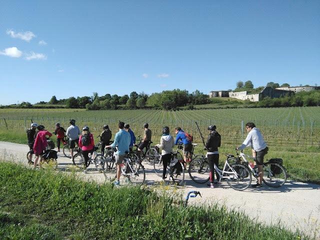 escursione con guida in bici