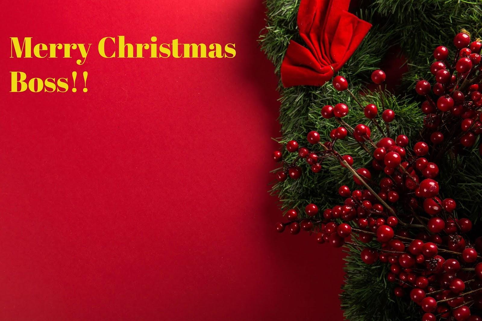 christmas greetings for boss - Best Christmas Greetings