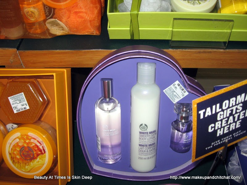 The Body Shop Store White Musk gift Box
