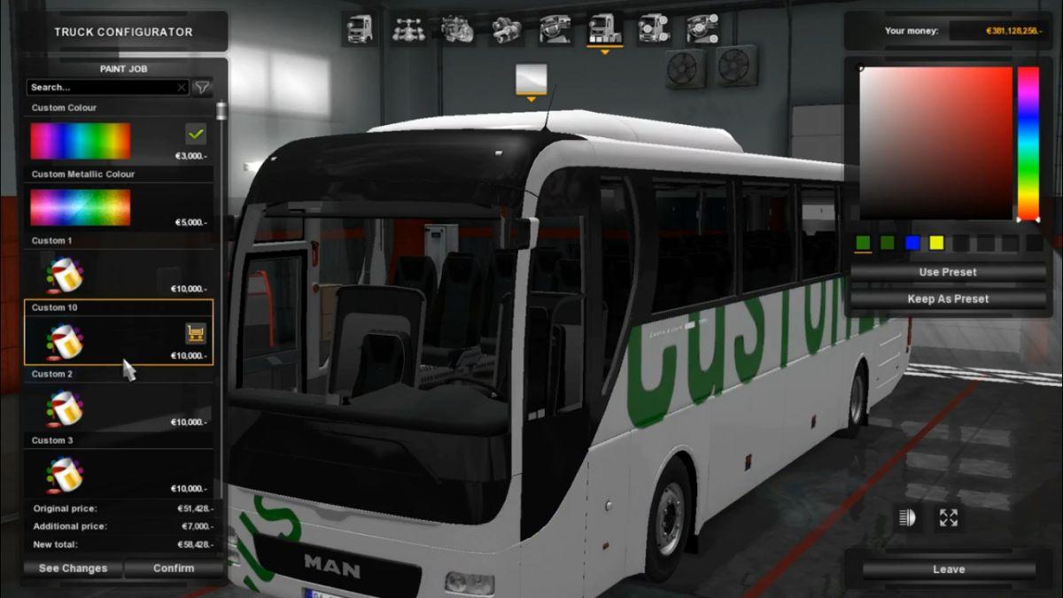 Bus Man Lion's Coach Euro 6 V2
