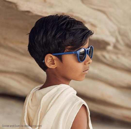 Sustainable sunglasses for boys