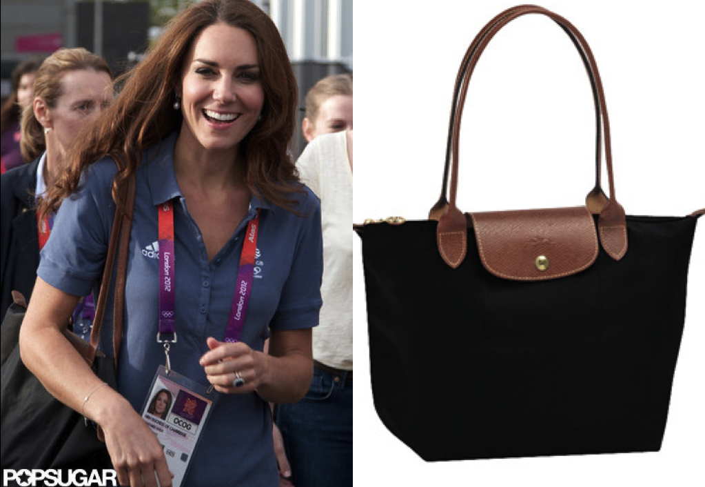 61442b2b29e5 ... Longchamp le pliage tote series which are mostly made in China. She  wore it with style. It is definitely must-have for people who are looking  for a new