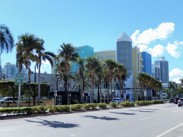 Edificio de la zona de South Beach