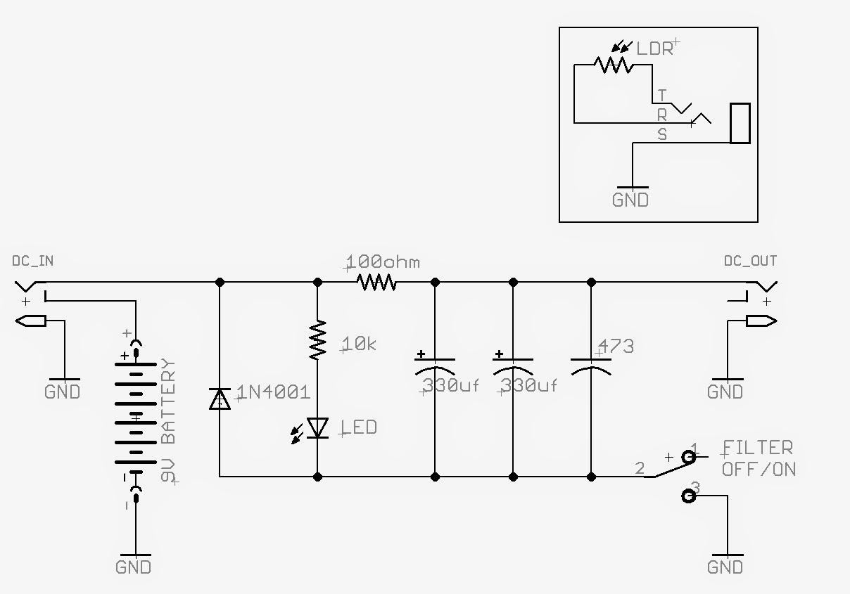 reverse polarity protector circuit schematic