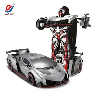 JIAQI TT667 2.4G RC Remote Control Deformation Robot