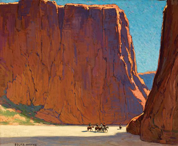 Sunset, Canyon de Chelly by Edgar Payne