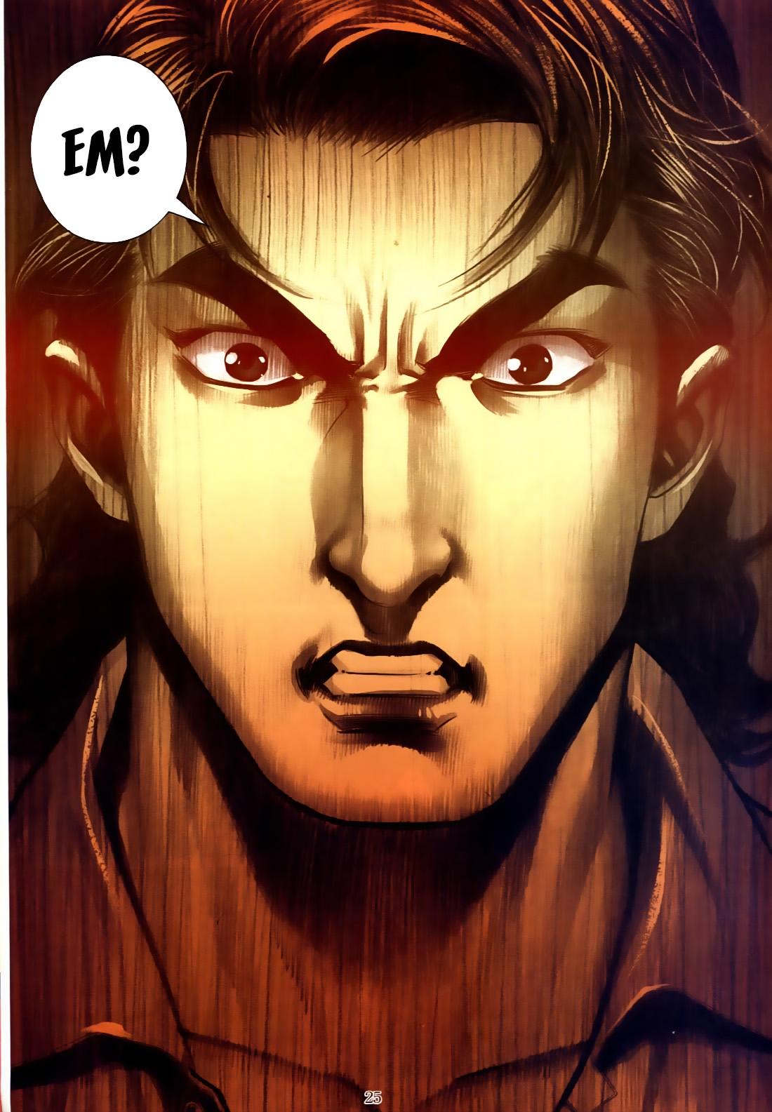 Người Trong Giang Hồ chapter 556: làm khó nam đẹp trai trang 17